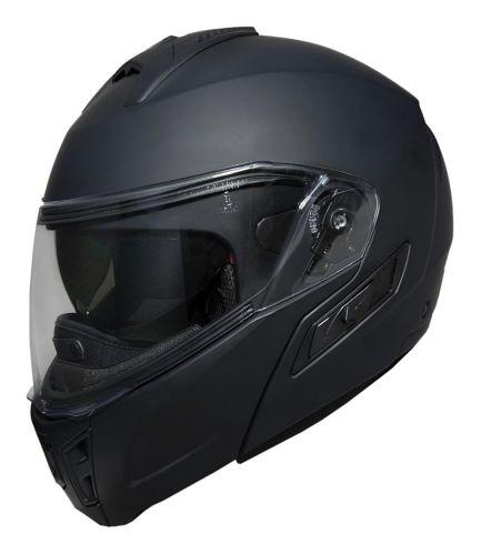 Fulmer Cruz Powersport Helmet, Matte Black