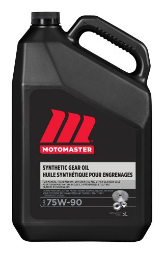 MotoMaster 75W90 Synthetic Gear Oil, 5-L
