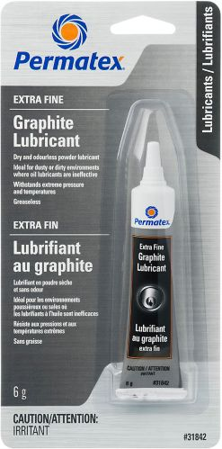 Permatex® Extra-Fine Graphite Lubricant, 6-g