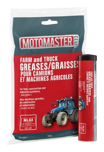 Graisse pour matériel agricole et camions Motomaster, paq. 3