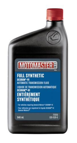 Motomaster ATF Dexron VI, 946-mL
