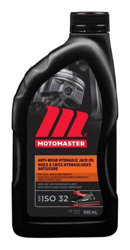 MotoMaster AW32 Hydraulic Oil, 946-mL