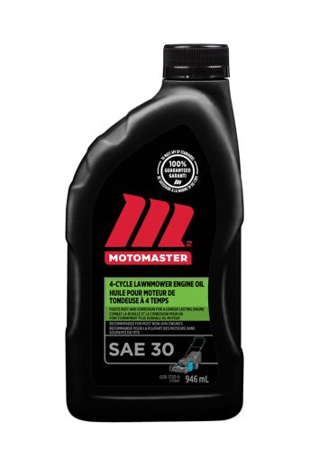 MotoMaster 4-Cycle Lawnmower Engine Oil, 946-mL