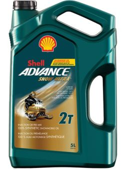 Shell Advance Synthetic Snowmobile Oil, 5L | Canadian Tire