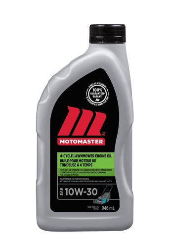 MotoMaster 4-Cycle OHV Lawnmower Oil, 10W30, 946-mL