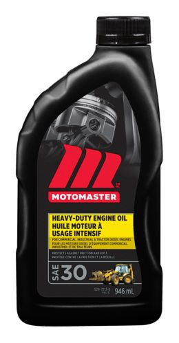 Motomaster Heavy Duty Engine Oil Sae 30 Canadian Tire