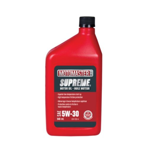 MotoMaster Supreme Conventional Motor Oil, 946 mL