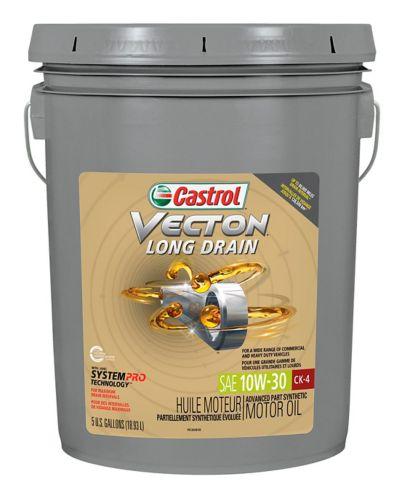 Castrol Vecton Long Drain CK-4 Diesel Motor Oil, 10W30, 18.9-L