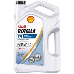 Rotella T 15W40 Conventional DieselEngine Oil, 5-L