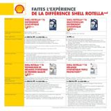 Huile à moteur diesel haute résistance Shell Rotella T4 Triple Protection 15W-40, 5L | Shell ROTELLAnull