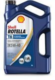 Huile synthétique Shell Rotella T6 pour moteur diesel, 5 L | Shell ROTELLA | Canadian Tire