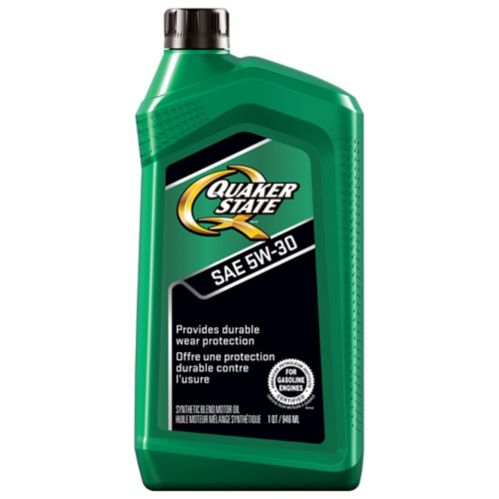 Quaker State 5W30 Advanced Durability Conventional Engine Oil, 946-mL