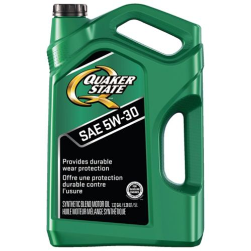 Quaker State 5W30 Advanced Durability Engine Oil, 5-L Product image