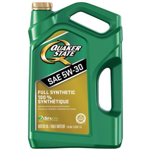 Quaker State Full Synthetic 5W-30 Motor Oil, 5-L Product image