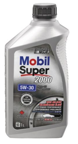 Mobil Super 2000 High Mileage Motor Oil, 1 L Product image