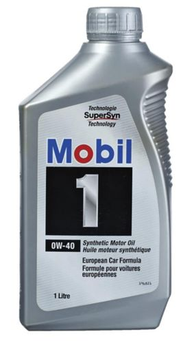 Mobil 1 0w40 Synthetic Engine Oil 1 L Canadian Tire