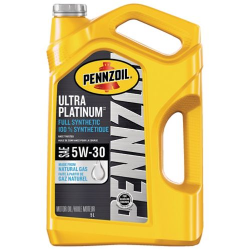 Pennzoil Ultra Platinum Full Synthetic 5W-30 Motor Oil, 5-L Product image