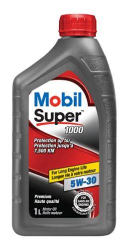 Mobil Super 1000 Conventional Motor Oil, 1 L