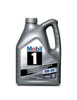 Mobil 1 Synthetic Engine Oil, 4 4-L