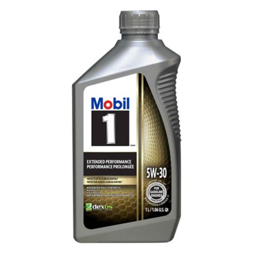 Mobil 1 5W30 Extended Performance Synthetic Motor Oil, 1-L