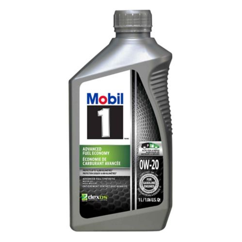 Mobil 1 0W20 Advanced Fuel Economy Synthetic Engine Oil, 1-L Product image