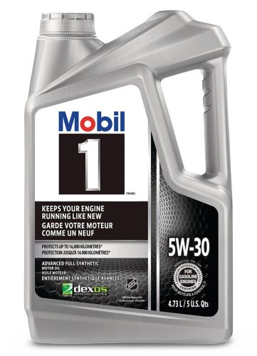 Mobil 1 5W30 Synthetic Engine Oil, 4.73-L Product image