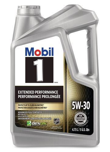 Mobil 1 5W30 Extended Performance Synthetic Oil, 4.73-L Product image
