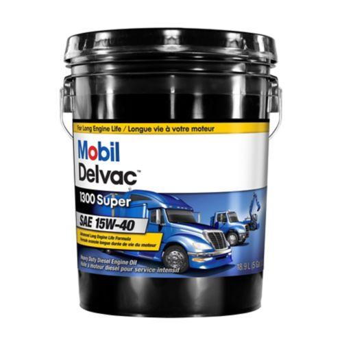 Mobil Delvac™ 15W40 Conventional Diesel Engine Oil, 18.9-L