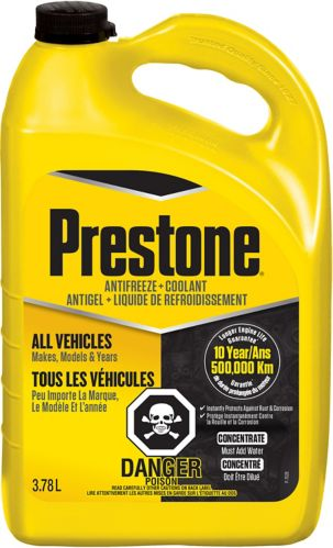 Prestone Antifreeze + Coolant Concentrate, 3.78-L