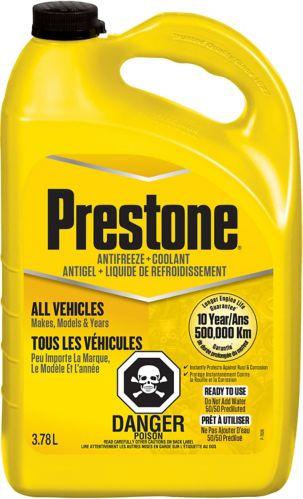 Prestone All Vehicles Antifreeze+Coolant, 3.78-L
