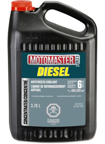 MotoMaster Extended Life Diesel Concentrated Anti-Freeze/Coolant, 3.78-L