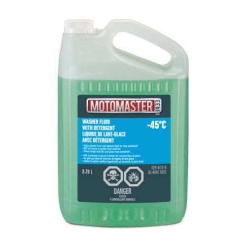 Liquide de lave-glace d'hiver MotoMaster, -45 °C, 3,78 L