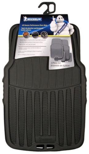 Michelin Floor Car Mat Set, 4-pc