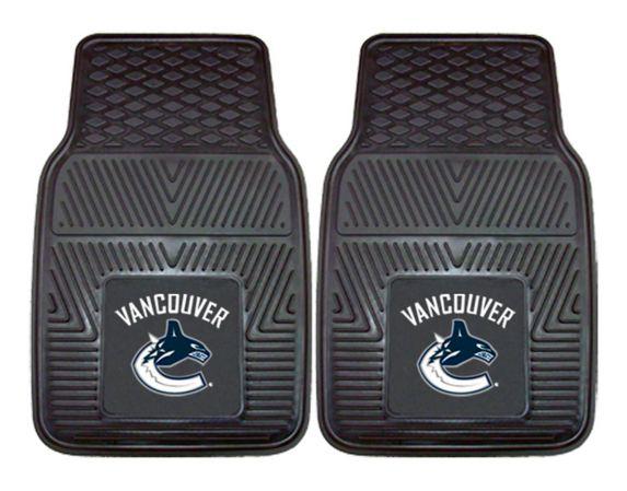 Tapis d'auto LNH des Canucks de Vancouver, 2 pièces