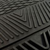 Tapis d'auto en caoutchouc, avant, LNH Jets, 2 pièces | Fan Matsnull