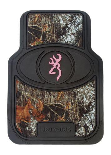 Browning® Mossy Oak® Pink Floor Mat, 2-pc
