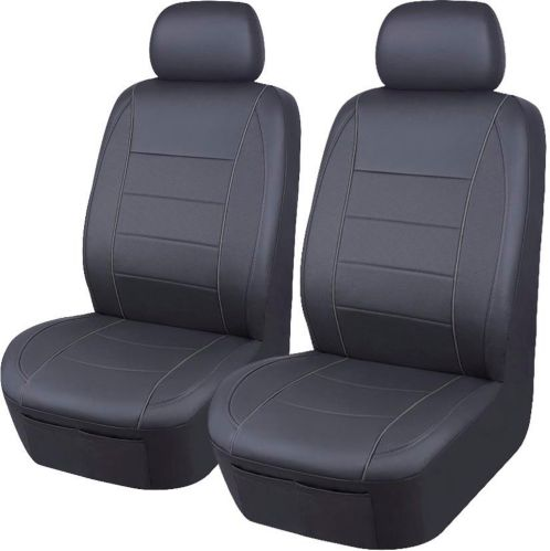 Glovebox PVC Low Back Seat Cover, Grey, 1-Piece
