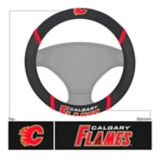 NHL Calgary Flames Steering Wheel Cover | Fan Matsnull