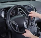GloveBox Woven Steering Wheel Cover, Black | GloveBoxnull