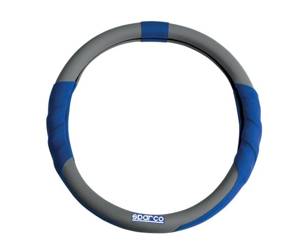 Sparco Red Steering Wheel Cover, Green/Blue