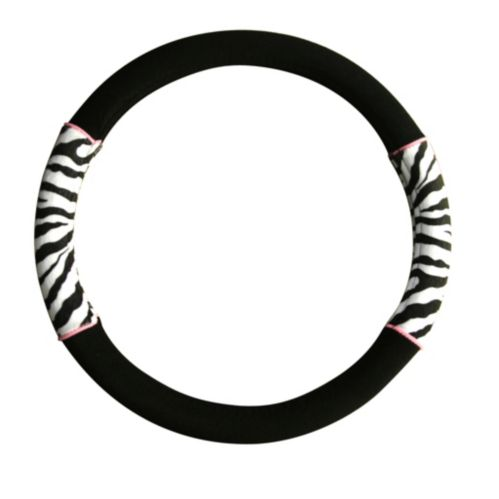 Zebra Design Steering Wheel Cover
