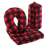Auto Trends Plaid Comfort Kit