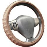 AutoTrends Chevron Comfort Grip Steering Wheel Cover, Tan | AutoTrends | Canadian Tire