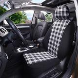 Autotrends Black & White Plaid Seat Cover | AutoTrendsnull