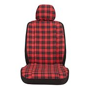 Auto Trends Plaid Seat Cover