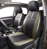 AutoTrends Leatherette Low Back Seat Cover, Olive/Black, 2-pc | AutoTrends | Canadian Tire