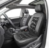 AutoTrends Premium Shiny Puffer Low Back Seat Cover | AutoTrends | Canadian Tire