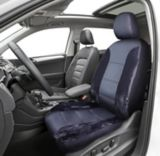 AutoTrends Premium Faux Fur & Leatherette Low Back Seat Cover, Black | AutoTrends | Canadian Tire