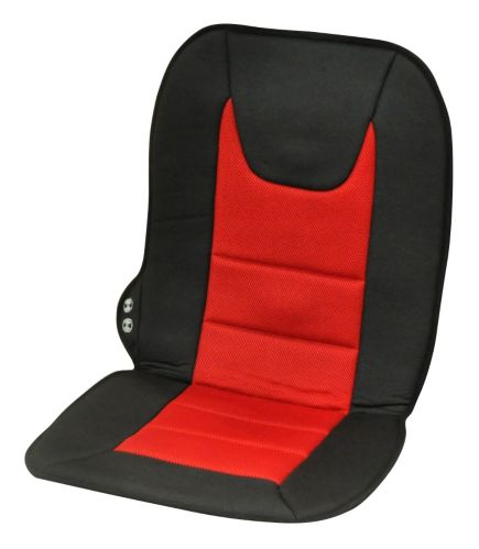AutoTrends Red Mesh Massage Cushion