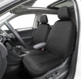 AutoTrends Wetsuit Low Back Front Seat Protectors, Black, 2-pc | AutoTrends | Canadian Tire
